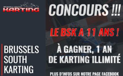 Nouveau Concours pour les 11 ans du BSKarting !
