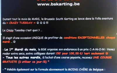 !!! CRAZY TUESDAY @ BSKARTING !!!